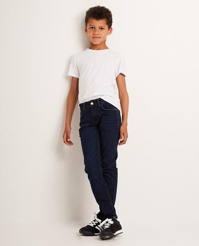 Donkerblauwe skinny I AM